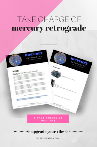 Mercury Retrograde Upgrade 8-Page Checklist