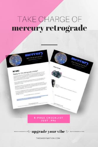 Mercury Retrograde Upgrade 8-Page Checklist