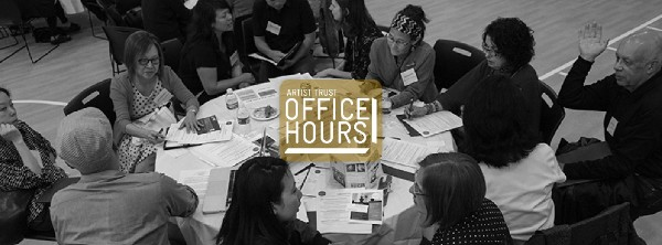 Artist Trust will be hosting Office Hours at our space on Saturday from 12-2pm. All artists welcome to this free event where they will learn how to apply for funding from Artist Trust.