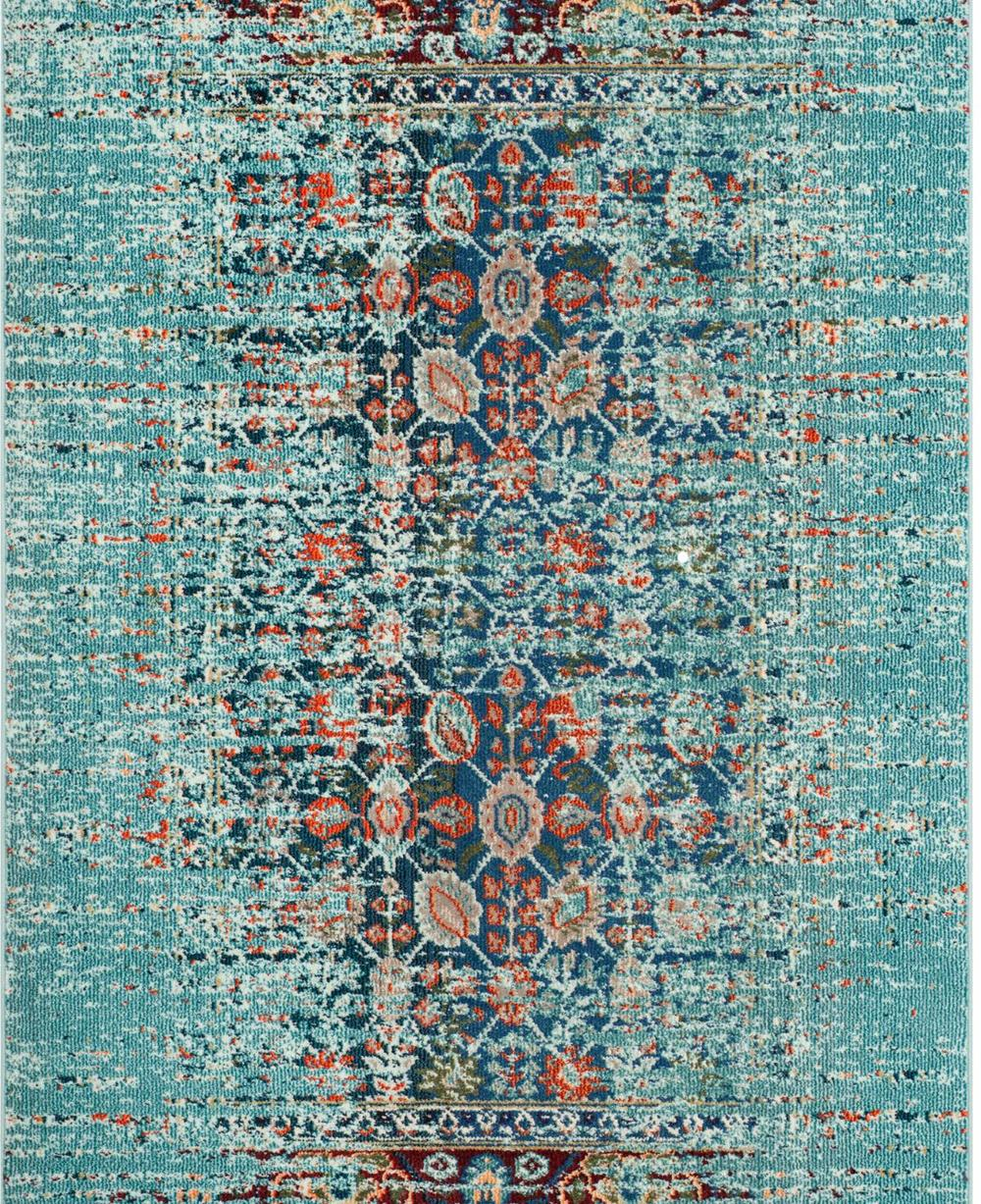 Safavieh Monaco Collection Blue/Multi