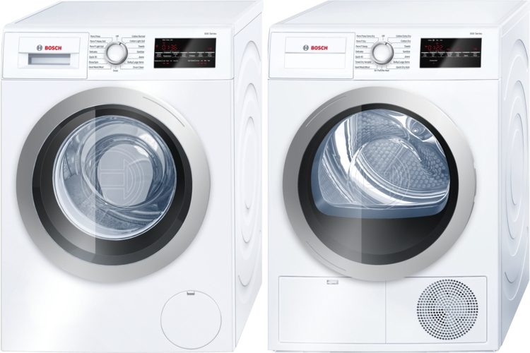 Bosch 500 Series Washer and Dryer were the perfect choice!