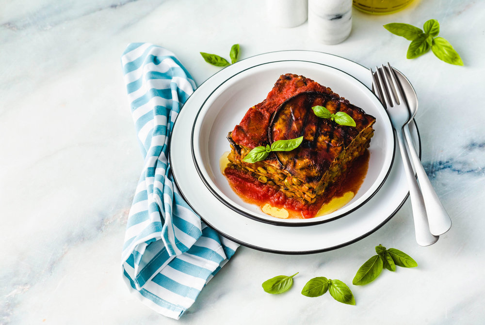 Mediterranean Vegan Lasagna -
