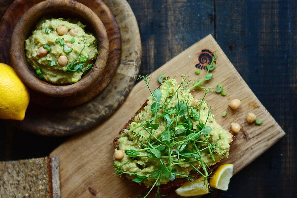 Lemon Thyme Chickpea Salad for Pure Plate Plan -