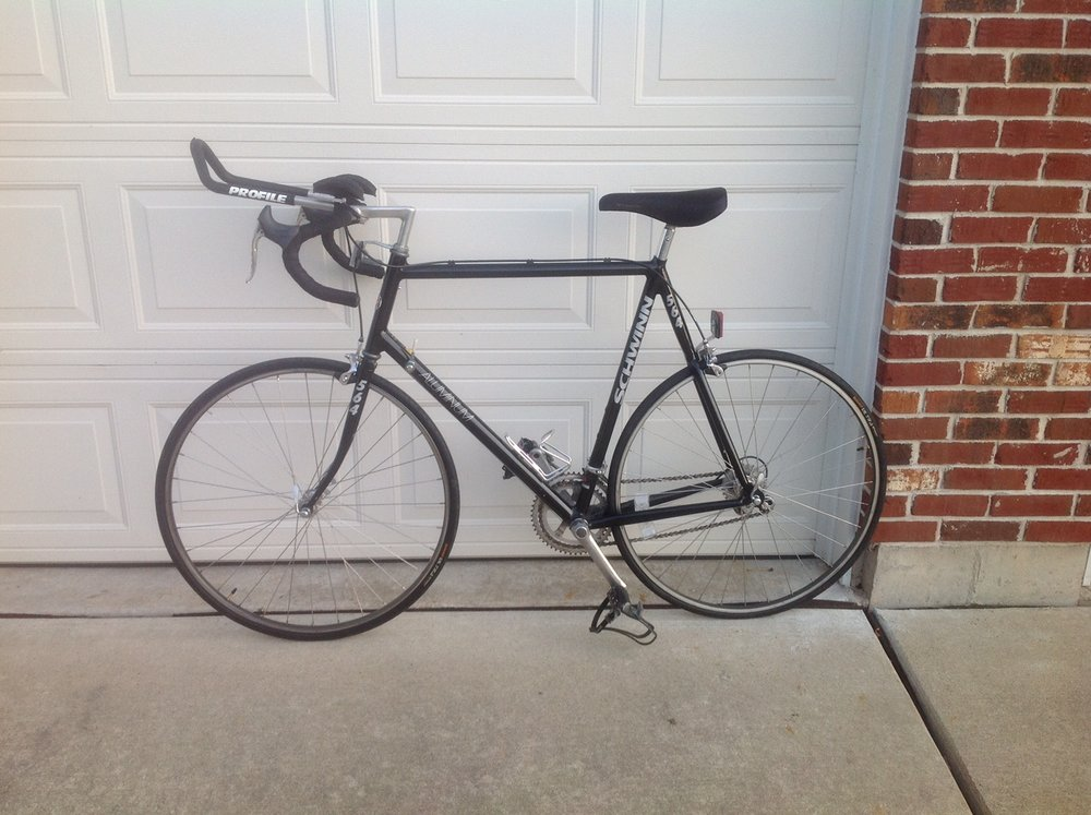 My bike for my first triathlon!