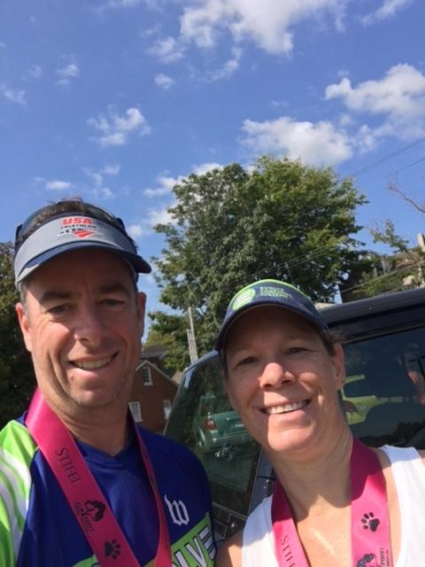 Scott and Coach Tori take 2nd in AG!