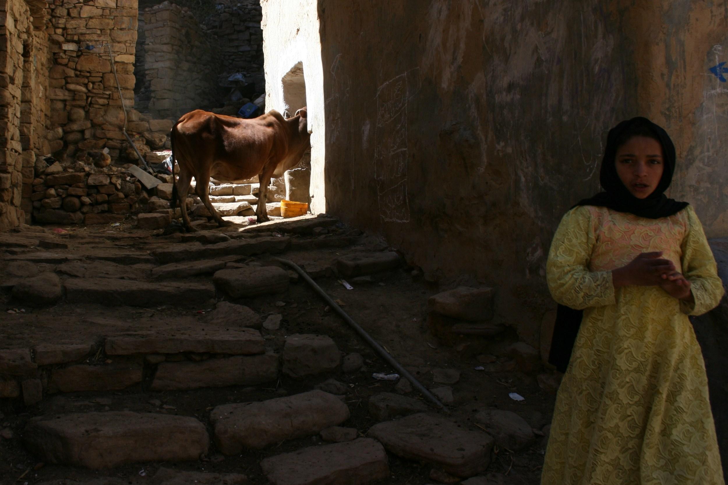 Child in Thula, Yemen