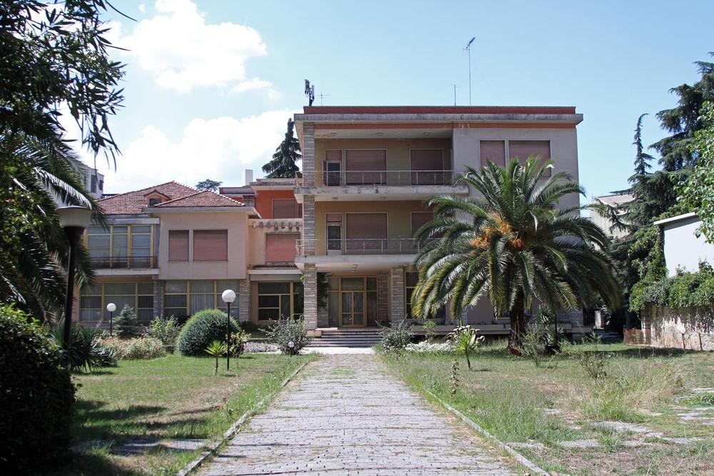 Hoxha's former residence in Tirana