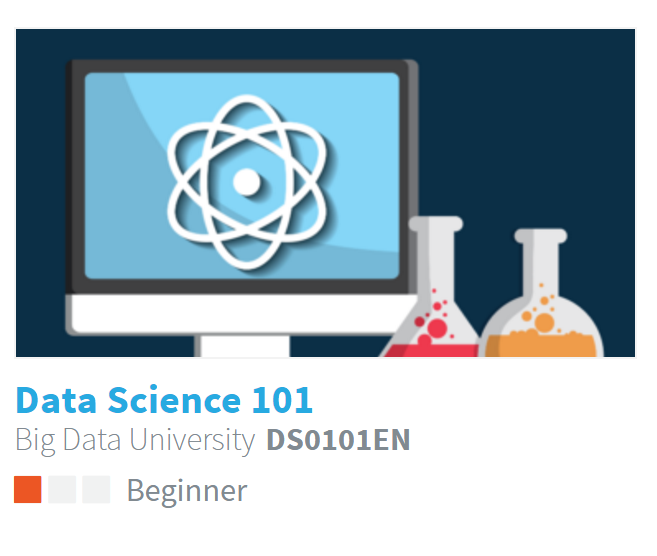 Data Science 101  - This is the 'so what' of data. Learn from experts. We customize training for you and your business.