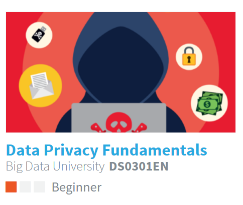 Data Privacy Fundamentals  -Learn about Data Privacy laws and see them in action in case studies.