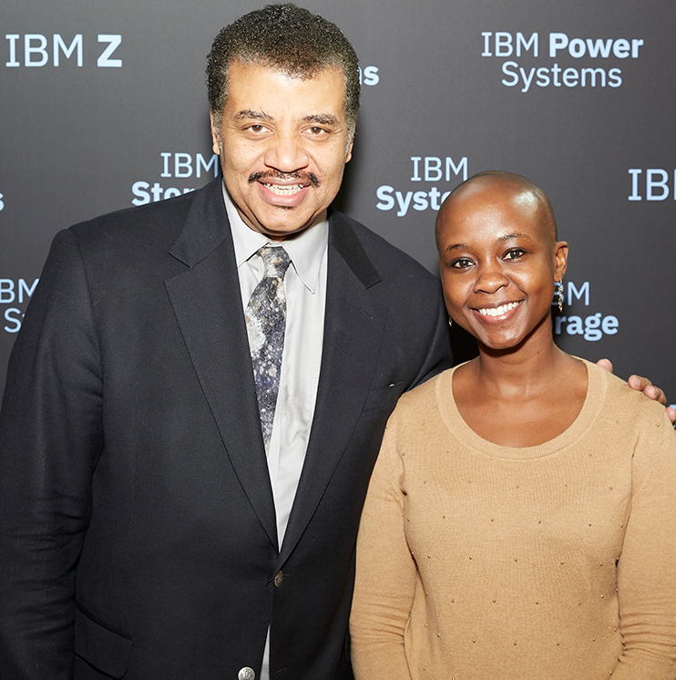 Shingai Manjengwa_Neil deGrasse Tyson_IBM Think Conference.png