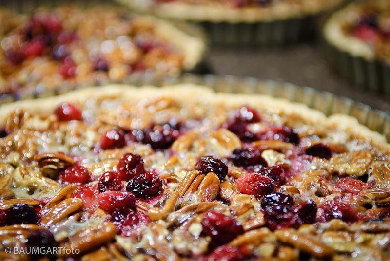 Cranberry Pecan Tart