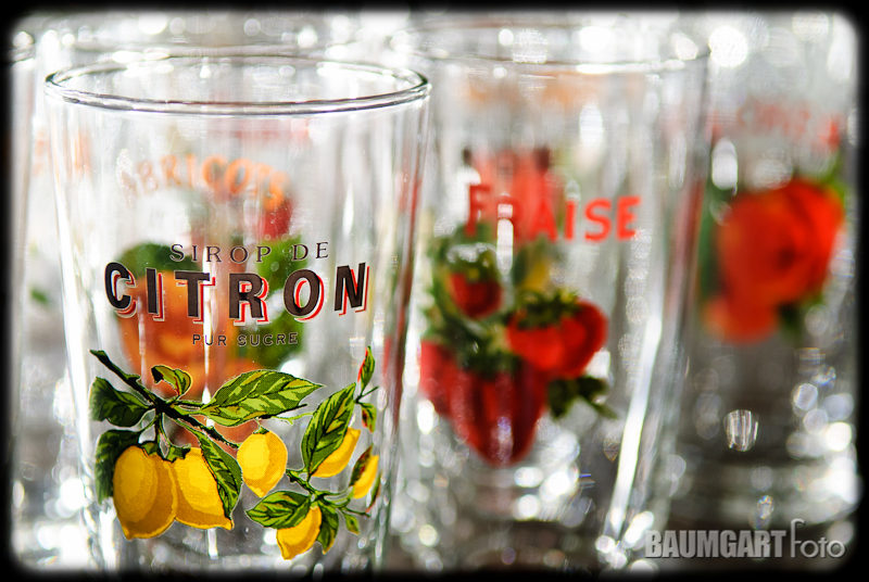 French fruit glass