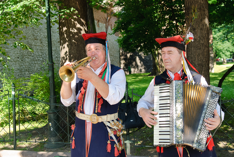 traditional music Krakow Poland
