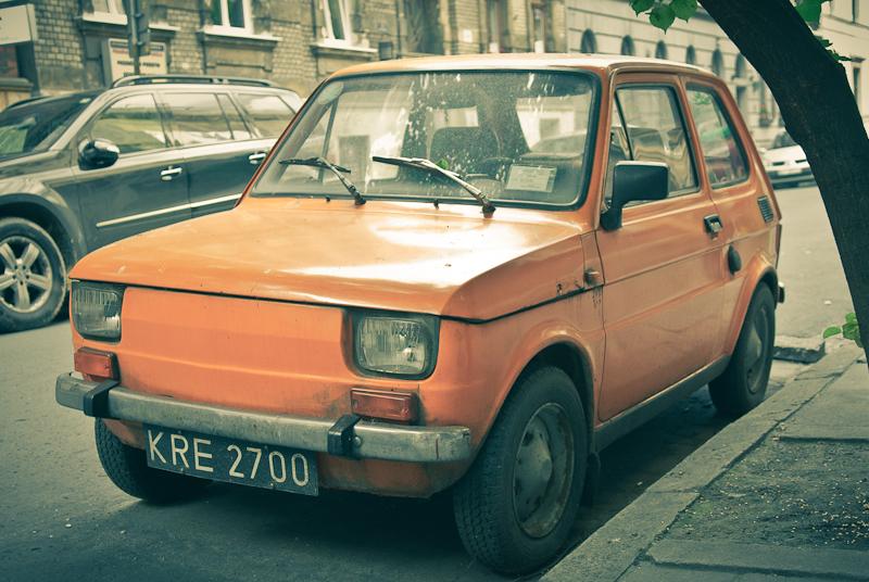 Polski Fiat Krakow Poland