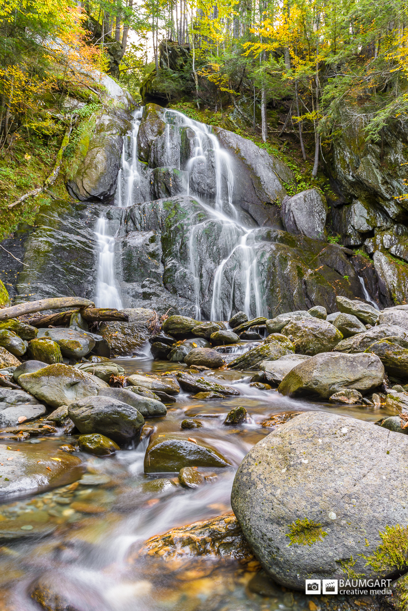 Moss Glen Falls - Granville, VT by Jeff Baumgart Creative Media
