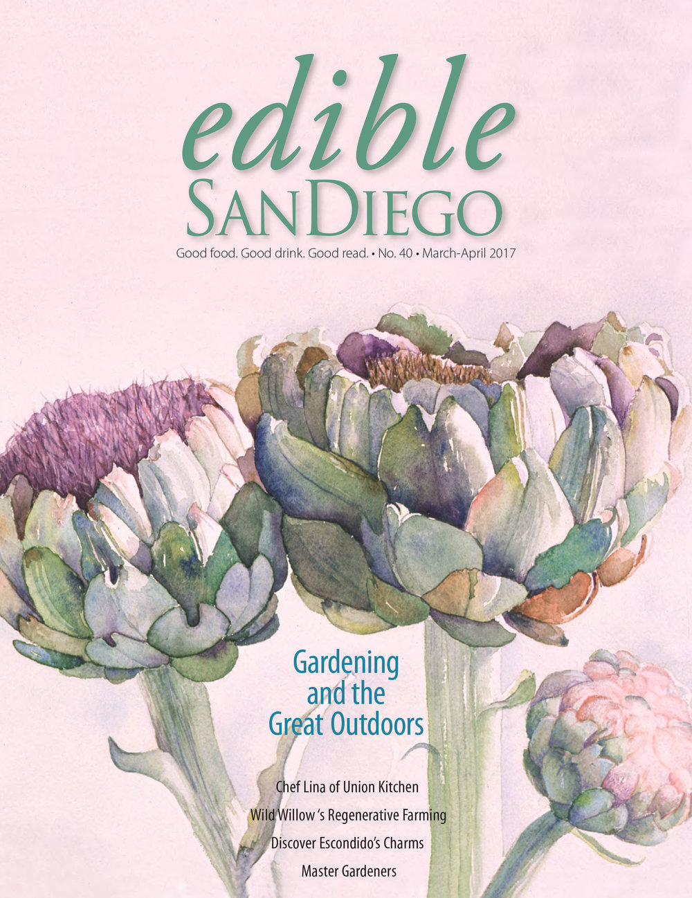 We get mentioned in the xxx/xxx 2017 Edible San Diego magazine.  - Read the article and the entire edition of the magazine by clicking here.