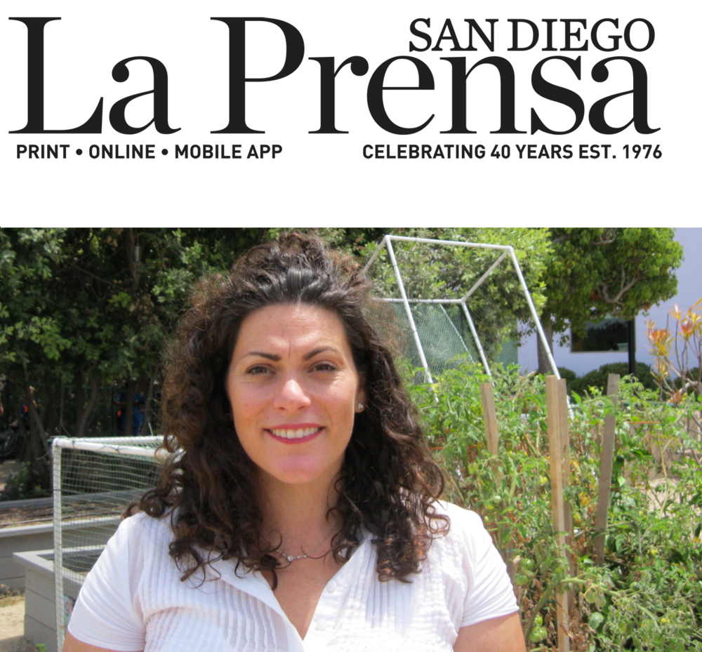 We get mentioned in La Prensa (August 17, 2017)  - A Chef Moving in a Different DirectionBy Mimi Pollack