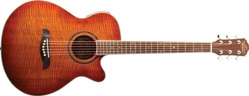 Oscar Schmidt OG10CEFYS Acoustic-Electric Concert Guitar