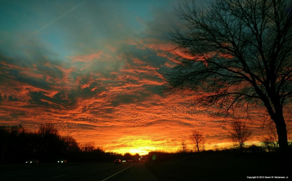 Sunrise on 70