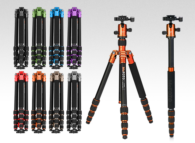 MeFOTO Road Trip lightweight travel tripod
