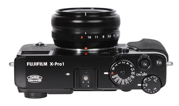 Fujifilm X-Pro 1 Top View