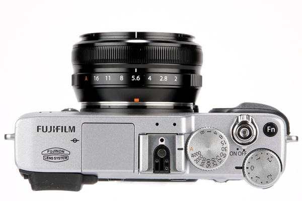 Fujifilm X-E1 Top View