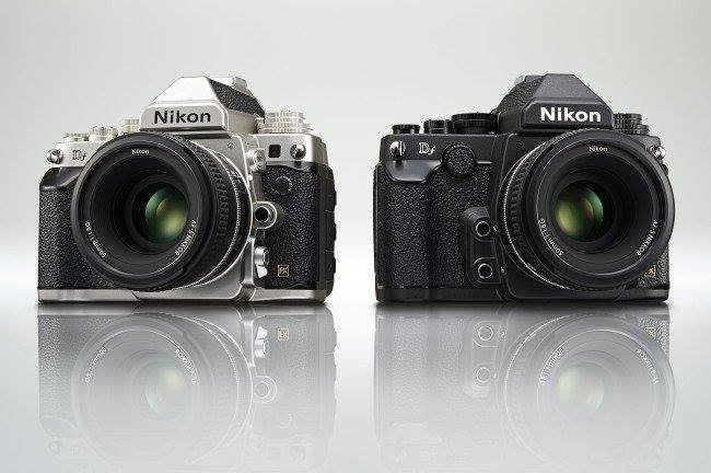 Nikon Df in Black and Silver.