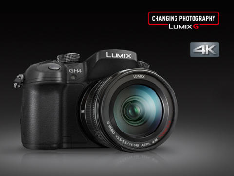 Panasonic Lumix GH4 Hybrid Camera