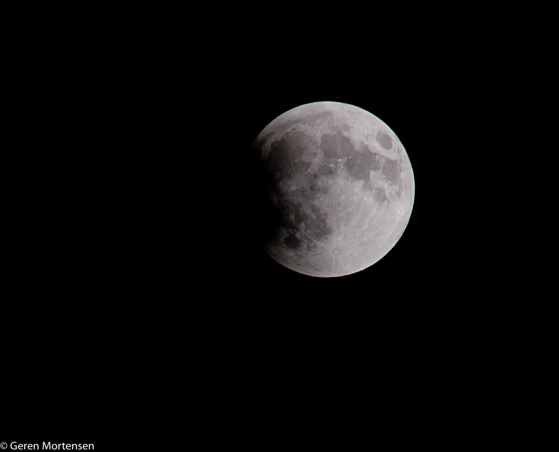 Lunar eclipse, Fujifilm X-E1, Fujifilm XC 50-230mm f/4.5-6.7