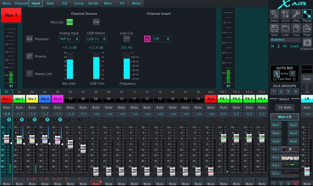 Behringer X-Air App for Windows