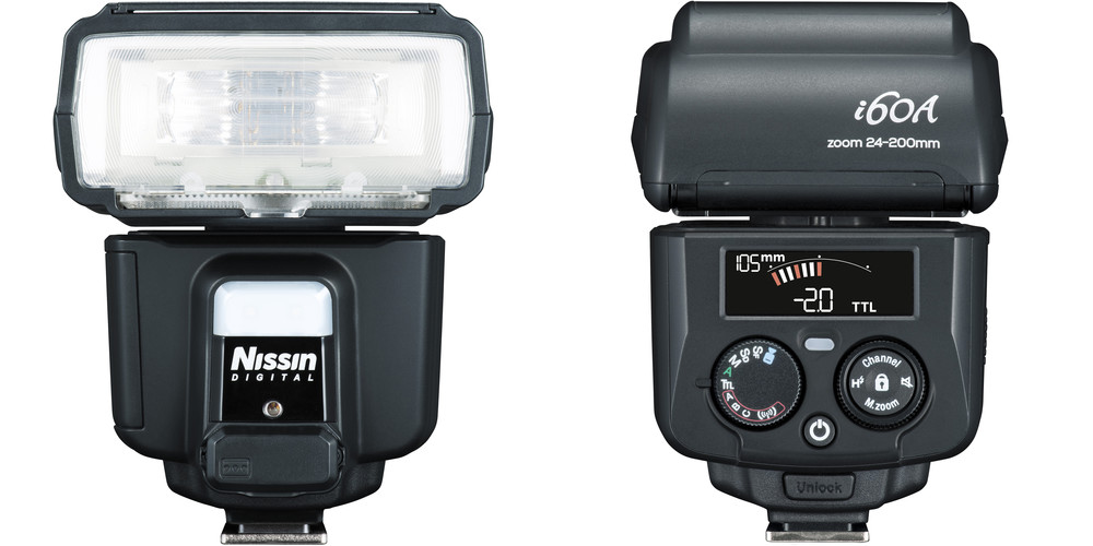 Nissin's i60 flash features high power, TTL/wireless remote, and very simple controls, and works with Fuji's TTL flashes. There's also manual control, when you want it.