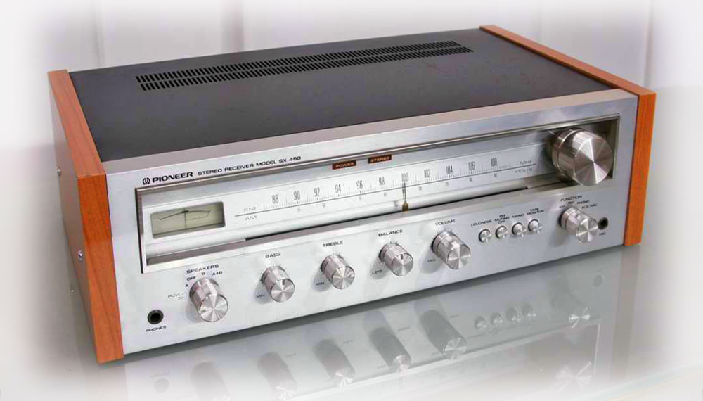 Pioneer SX-450 Integrated Receiver c. 1978