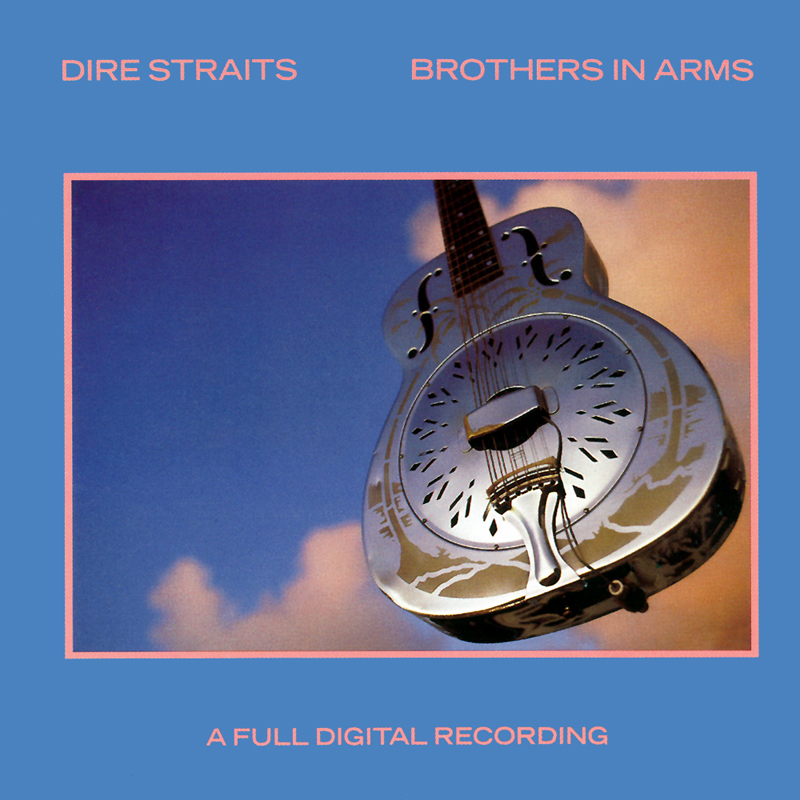Dire Straights Brothers in Arms CD cover.