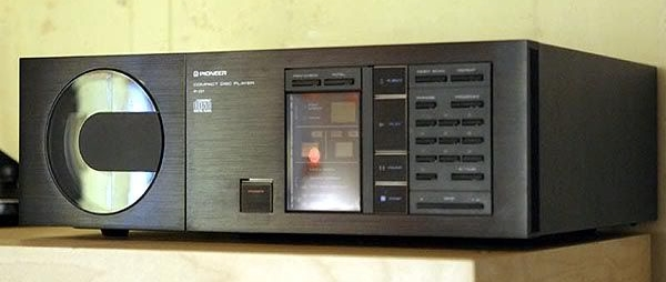 Pioneer P-D1 Compact Disc Player. image found on Pinterest