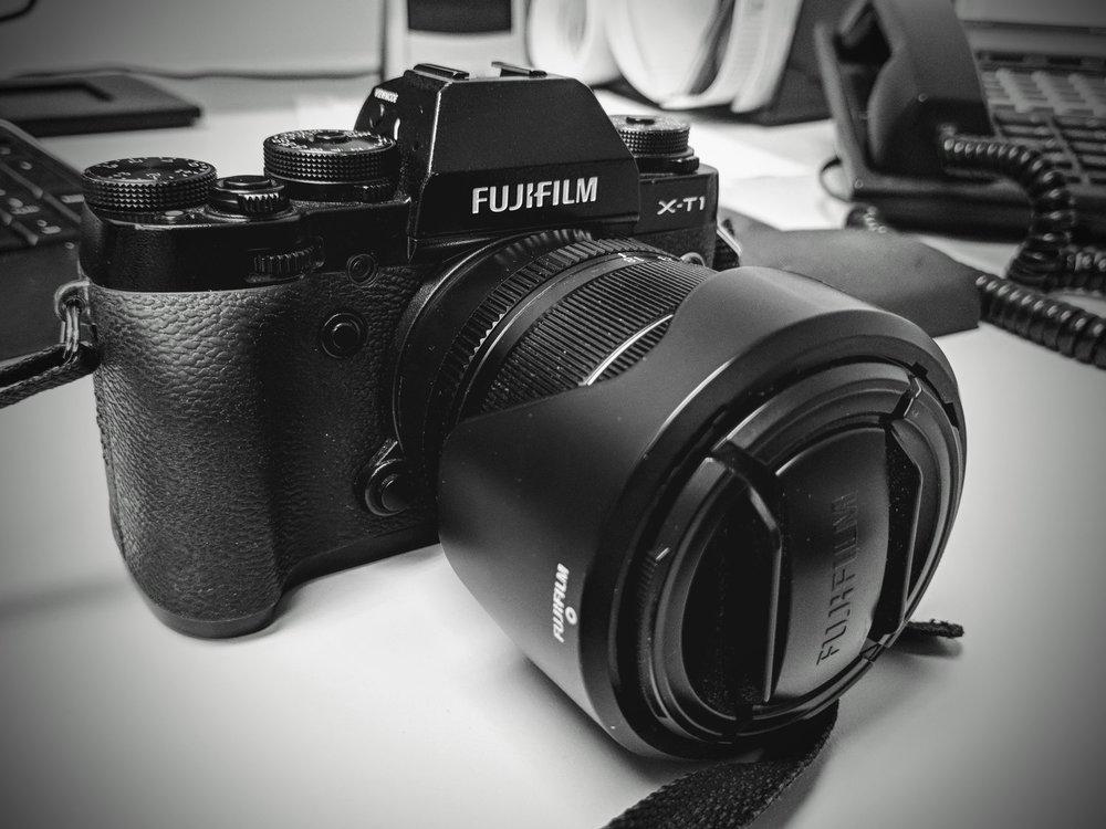 Fujifilm X-T1 w/ 18-55mm lens
