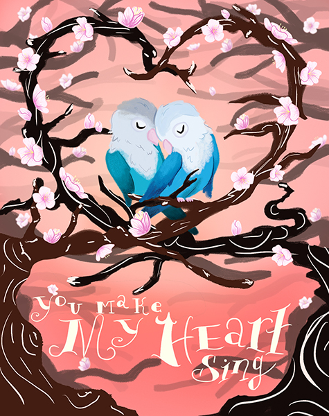 Love Birds Greeter