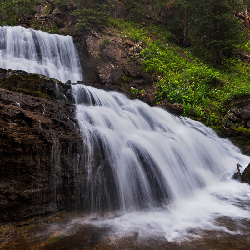 Forests, Streams and waterfalls -