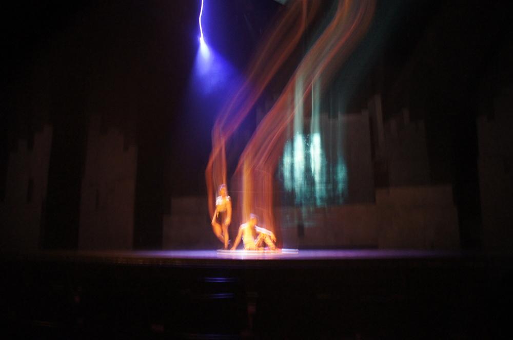 Circus or camera magic.... I'll never divulge!