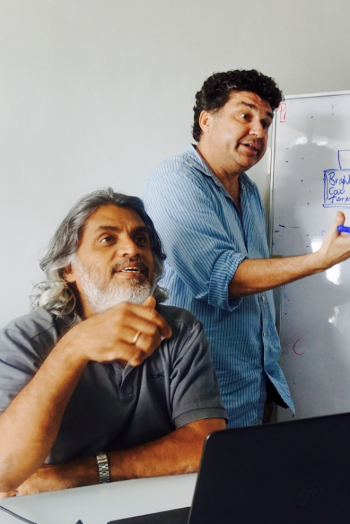 Innovative duo Bala Nair (left) and Paul Foster (right)