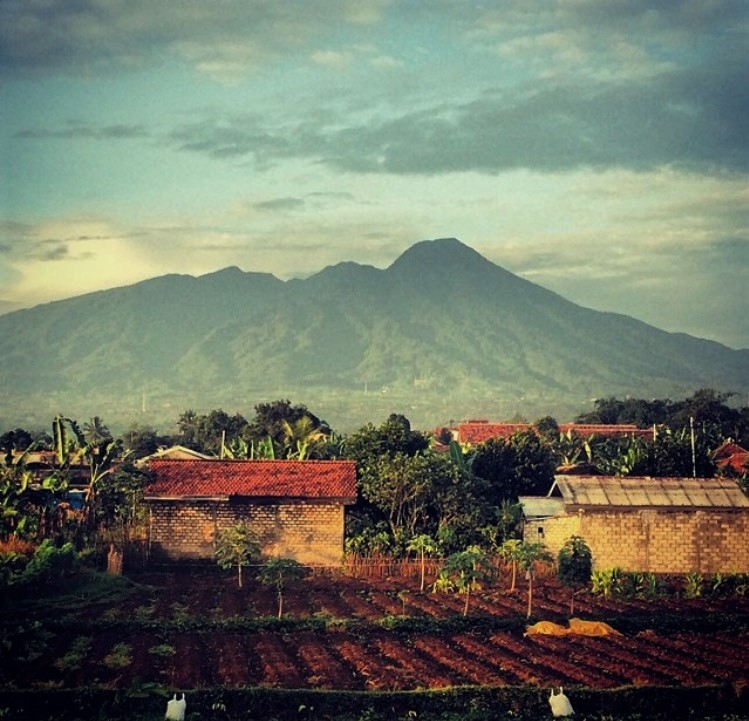 Franki's hometown, Kampung Setu in Bogor, West Java, Indonesia - Picture courtesy of Francisca Turner Shaik