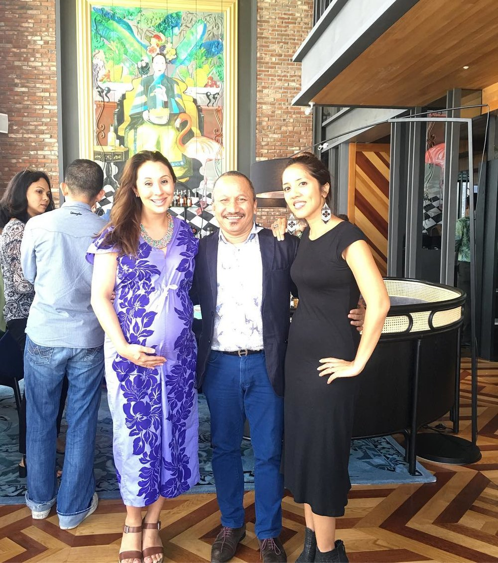 Batik&Bubbles with Joe Sidek, Festival Director of Rainforest Fringe Festival 2017
