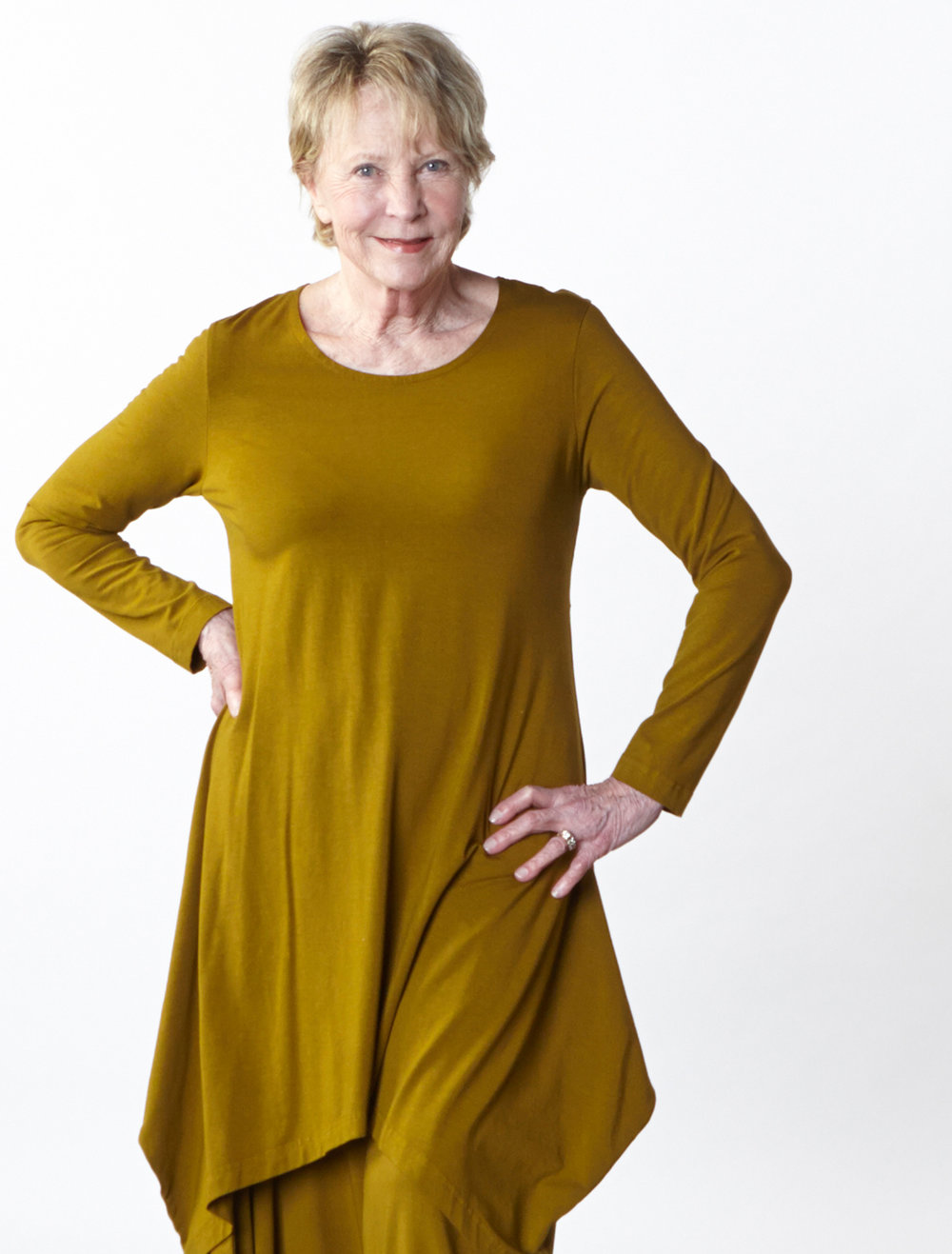 Chase Tunic, Hamish Pant in Trebbiano Organic Bamboo Cotton