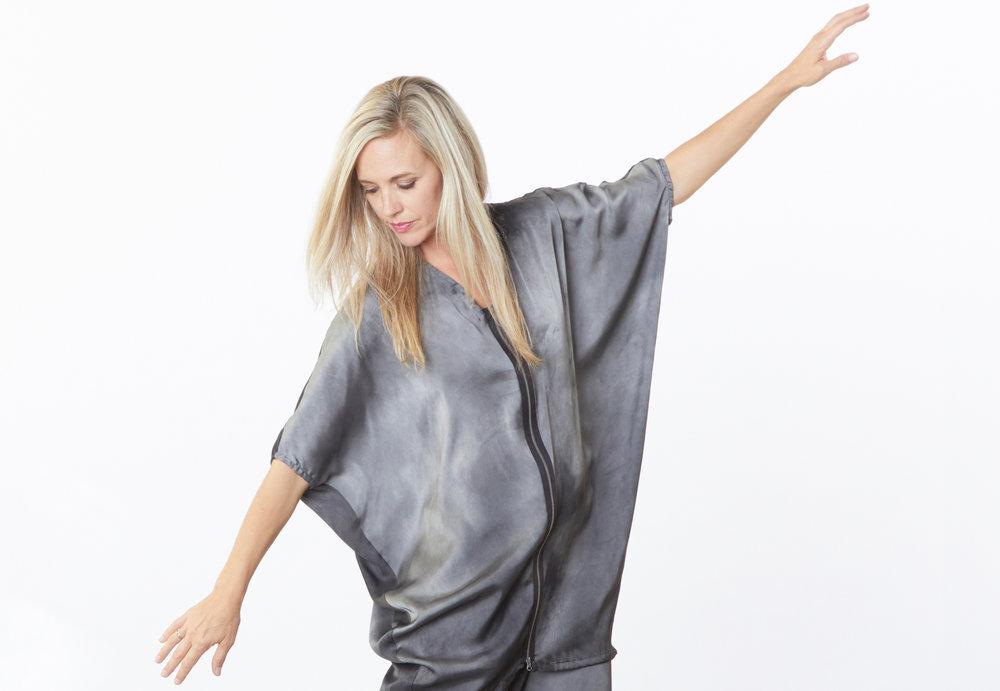 Rachel Tunic in Moonglade Tie Dye