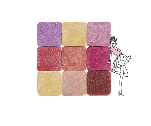 My Parisian Pastels, all-in-one palette
