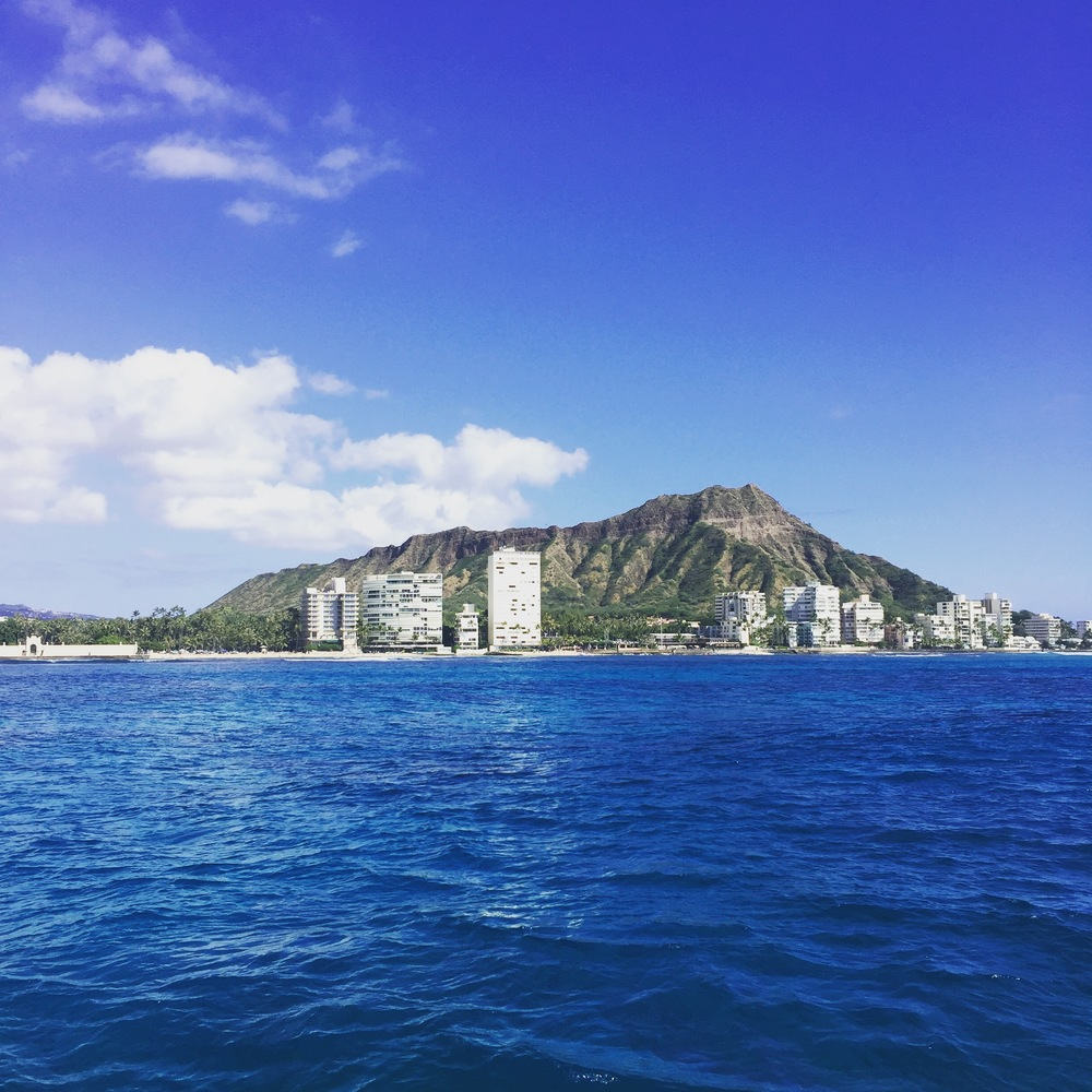 Waikiki from the water
