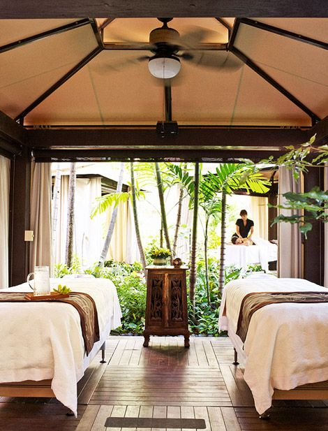 Open air Tropical Facial at Resort Abhasa Spa at The Royal Hawaiian