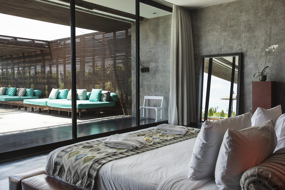 Bedroom in Bali Villa