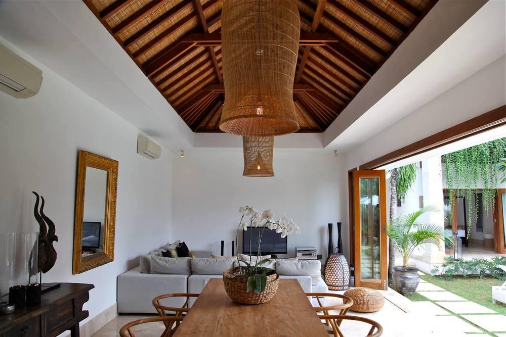 Inside a Villa in Bali