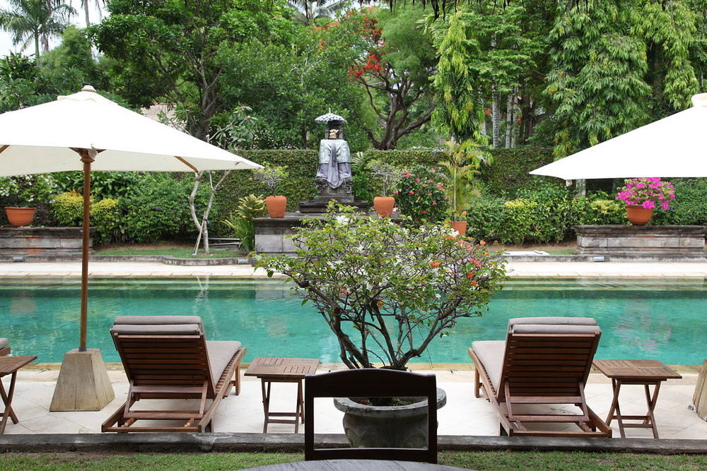 Pool in Bali villa