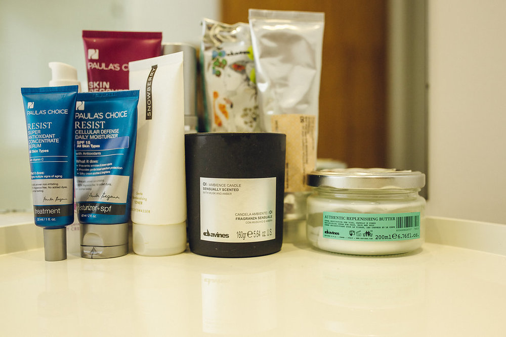 Williams beauty routine is natural and simple